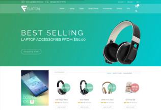 Flaton – Premium Responsive Magento Digital Theme