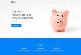 Flick – Premium Responsive Finance, Marketing, Consultation Business HTML5 Template