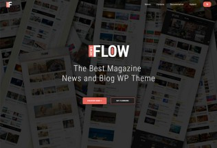 Flow News – Premium Responsive Magazine and Blog WordPress Theme