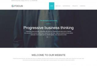 Focus – Premium Business Muse Template