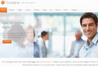 Fontaine – Joomla Premium Responsive Template