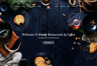 Foddy – Premium Responsive Restaurant HTML5 Template