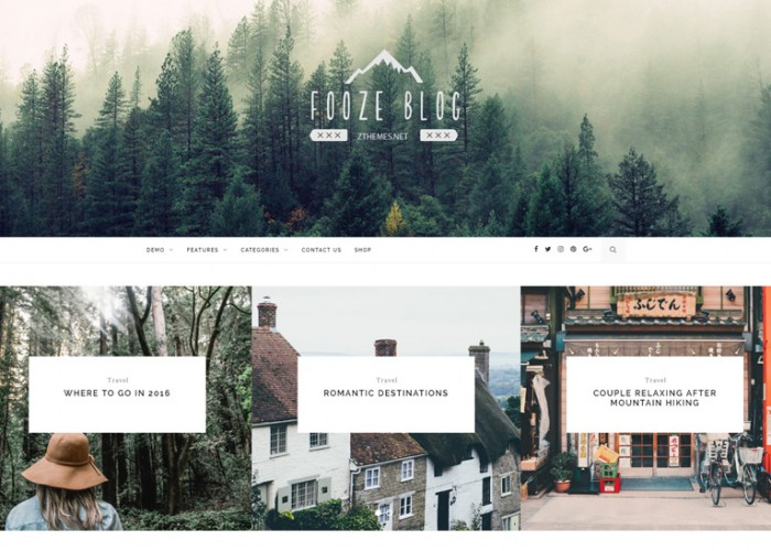 Fooze – Premium Responsive Blog WordPress Theme