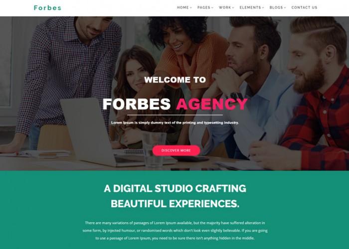 Forbes – Premium Repsonsive Multipurpose HTML5 Template