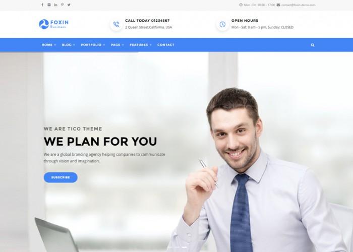 Foxin – Premium Responsive Business Drupal 8 Theme