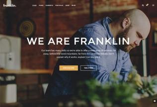 Franklin – Premium Responsive MultiPurpose WordPress Theme