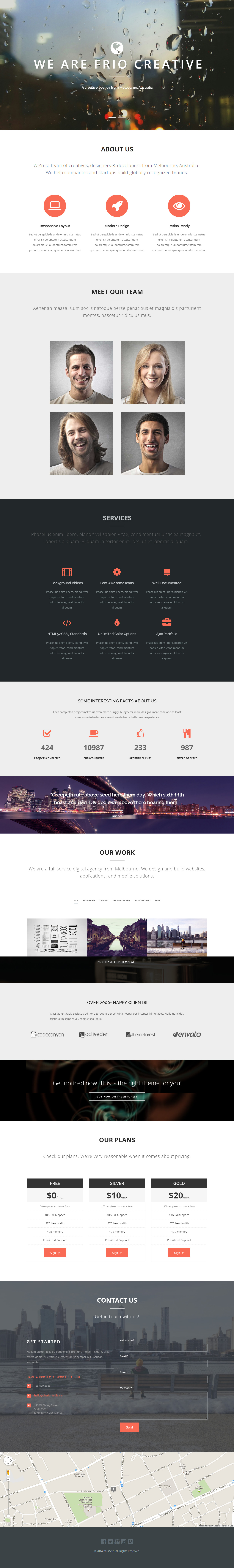 10 Best Responsive Blog HTML5 Templates in 2014 - Responsive Miracle
