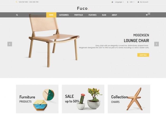 Fuco – Premium Responsive Handmade Furniture Prestashop 1.7 Theme