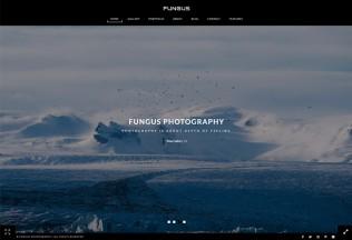 Fungus – Premium Responsive Photography / Portfolio HTML5 Template