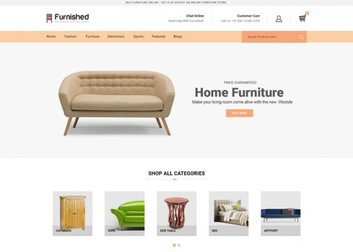 Furnished – Premium Responsive Furniture OpenCart Theme