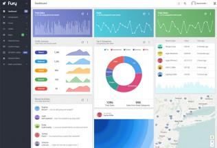 Fury – Premium Responsive Angular 2 Material Design Admin HTML5 Template