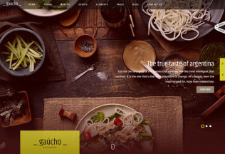 Gaucho – Premium Responsive Food and Restaurant HTML5 Template