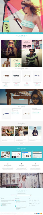 Best Responsive Magento Glasses Store Themes in 2015
