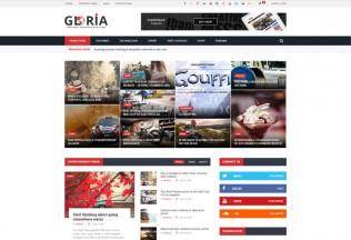 Gloria – Premium Responsive News Magazine WordPress Theme