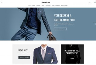 GoofyStore – Premium Responsive Men's Fashion Magento Theme