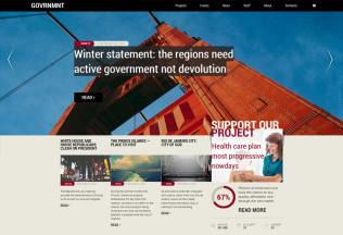 Government – Premium Responsive Political HTML5 Template