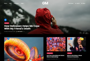 Grand Magazine – Premium Responsive News Blog WordPress Theme