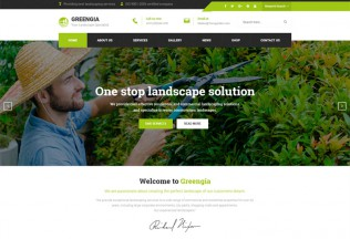 Greengia – Premium Responsive Gardening WordPress Theme