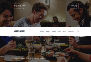 Gulash – Premium Responsive Restaurant & Coffee WordPress Theme