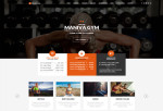 Maniva – Premium Responsive Gym Fitness Yoga WordPress Theme