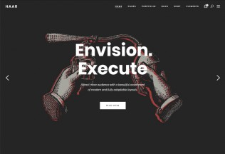 Haar – Premium Responsive Portfolio WordPress Theme