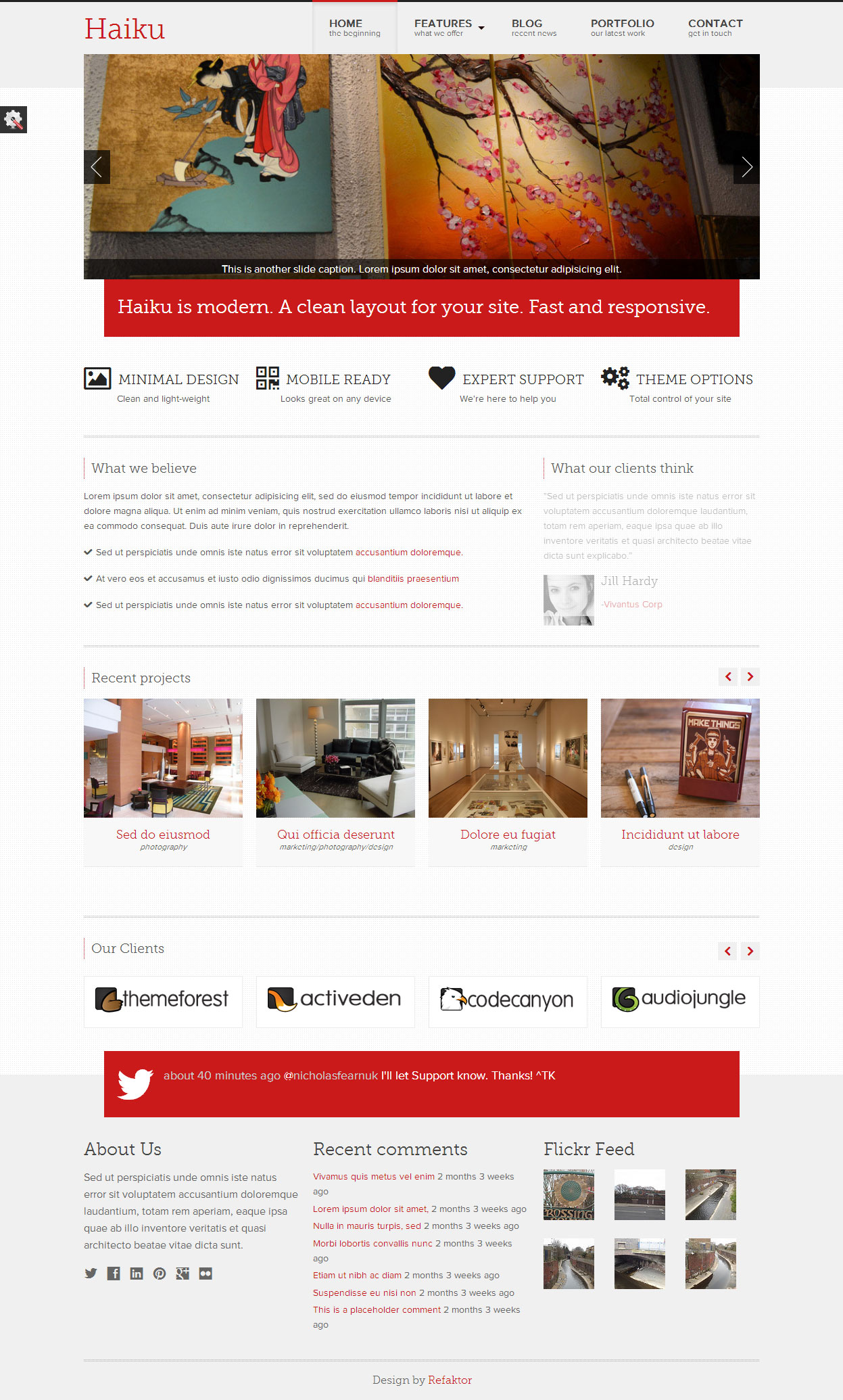 how to set up a responsive web page