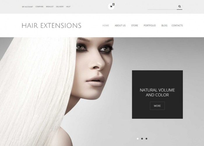 Hair Extensions Salon – Premium Responsive WooCommerce Theme