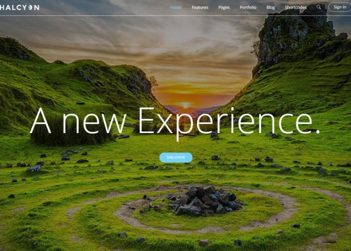 Halcyon – Premium Responsive Multipurpose Modern WordPress Theme