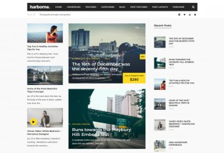 Harborne – Premium Responsive Magazine & Blog WordPress Theme