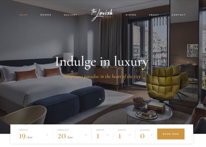 Haven – Premium Responsive Hotel WordPress Theme