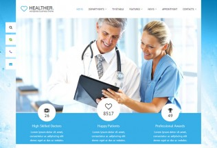 Healther – Premium Responsive Medical & Health WordPress Theme