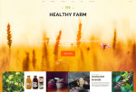 Healthy Farm – Premium Responsive Food & Agriculture WordPress Theme