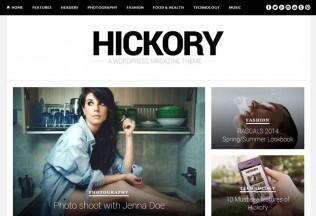 Hickory – Premium Responsive Magazine & Blog WordPress Theme