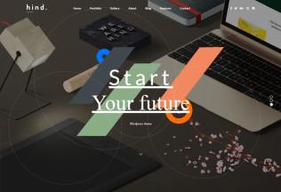 Hind – Premium Responisve Multi-Concept Portfolio WordPress Theme