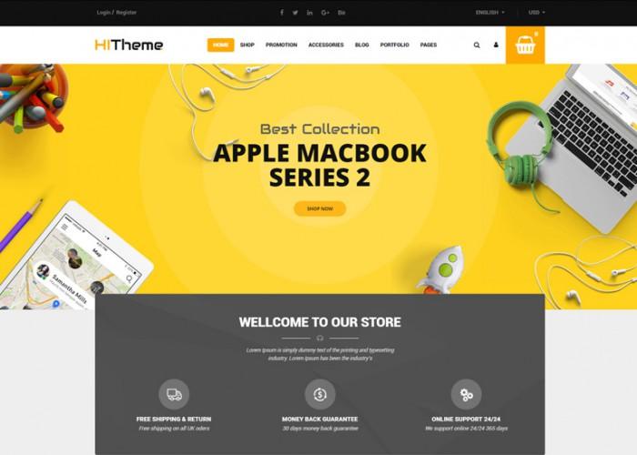 HiTheme – Premium Responsive WooCommerce WordPress Theme