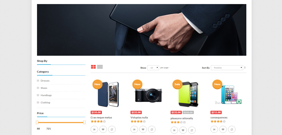Hitstore Premium Responsive Hitech Magento Theme