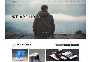 Hoax – Premium Creative Multipurpose Muse Template