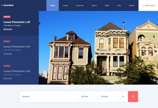 HomeFind – Premium Responsive Real Estate HTML5 Template