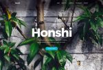 Honshi – Premium Responsive Creative Multipurpose WordPress Theme