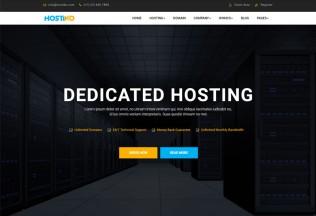 Hostiko – Premium Responsive WHMCS Hosting HTML5 Template