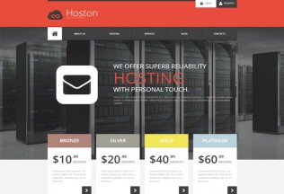 Hoston – Premium Resposnive Hosting HTML5 Template