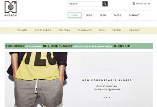 Hudson – Premium Responsive eCommerce WordPress Theme
