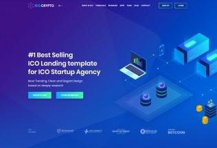 ICOs Crypto – Premium Responsive Bitcoin, Cryptocurrency WordPress Theme