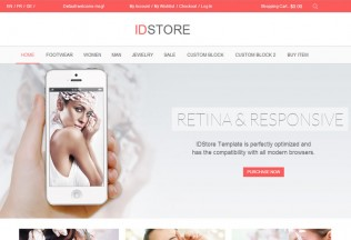 IDStore – Premium Responsive Multi-Purpose Magento Theme