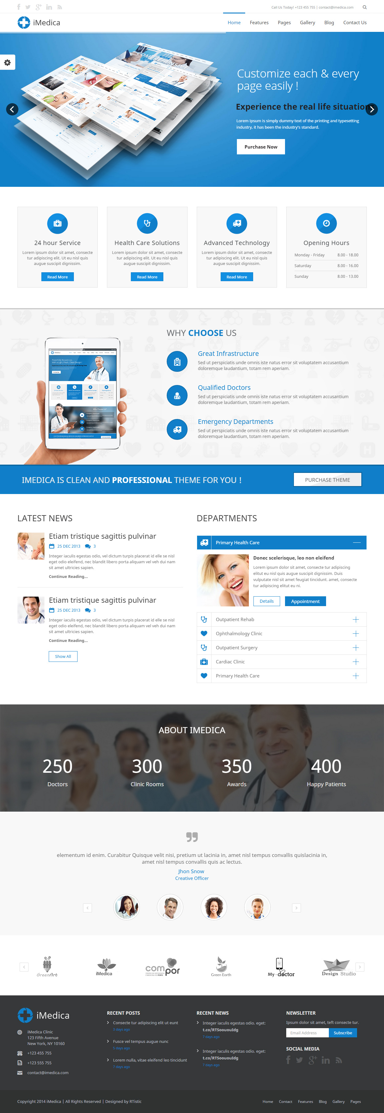 25+ Best Responsive Medical Healthcare HTML5 Templates 2017 ...