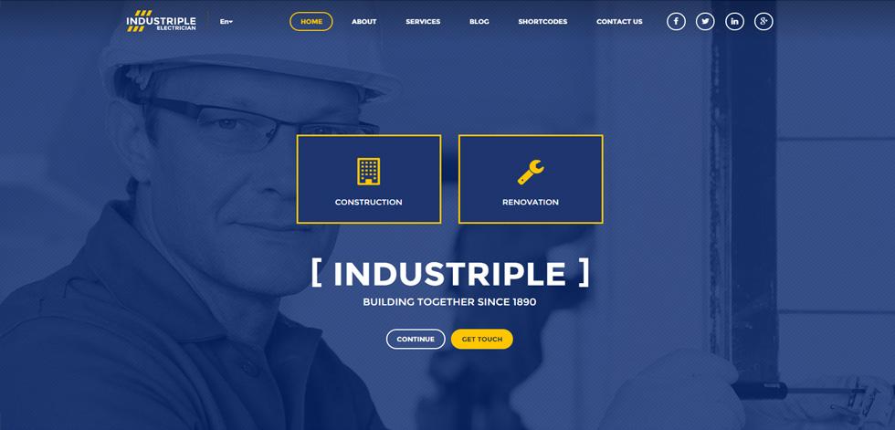 Industriple Premium Responsive Multi Industrial