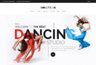 InMotion – Premium Responsive Dance School WordPress Theme