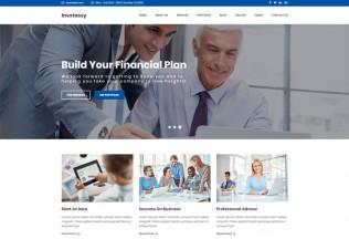 Invxtassy – Premium Responsive Finance and Consulting WordPress Theme