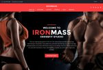IronMass – Premium Responsive Gym Fitness & Bodybuilding WordPress Theme