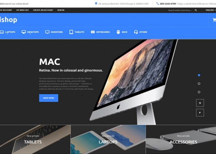 iShop – Premium Responsive Electronic Magento Theme